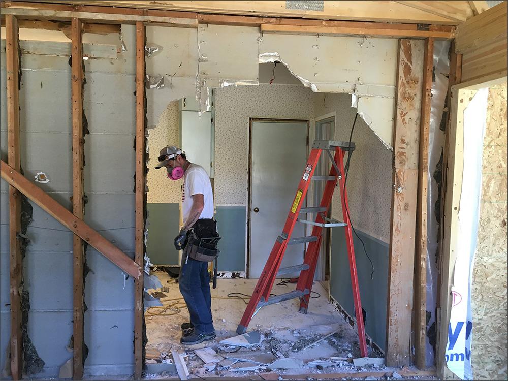 Billings Remodel Experts Johnson Construction remodel Ddemolition