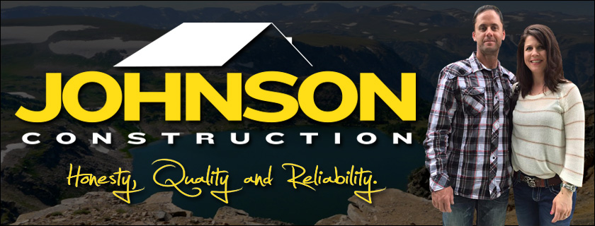 About Johnson Construction Logo for Billings Home Builder