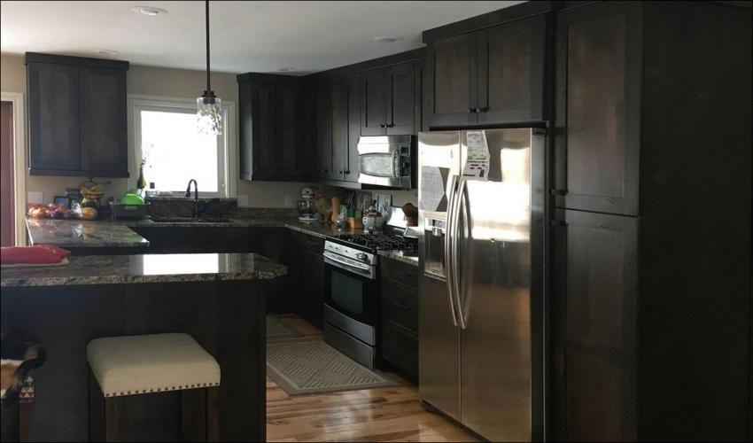services-Slideshow-Johnson-Construction-Billings-Kitchen-Remodel-Alder-Wood-Cabinets-Kitchen-Appliances